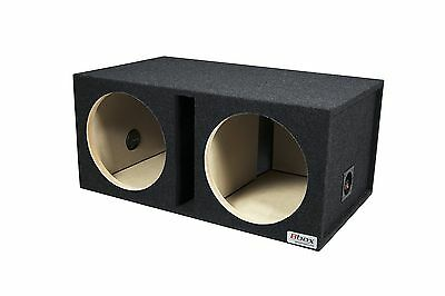 Bbox E12DSV Dual 12-Inch Shared Vent Subwoofer Enclosure FREE SHIPPING