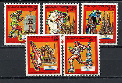 Centrafricaine Stamps, The Olympic - Barcelona 1992, (5), Olimpiadas