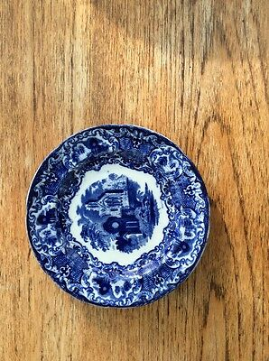 George Jones Blue And White 'Abbey' Side Plate