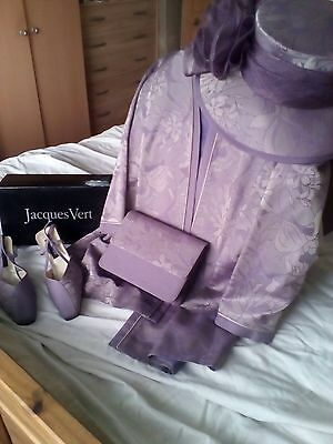 Jacques Vert Mother Of Bride/Whole Wedding Outfit Size 16