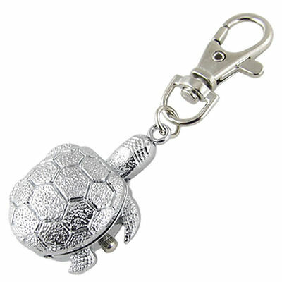 Ladies/girls/nurses Tortoise/turtle Keyring/key Chain Pendant Pocket Fob Watch