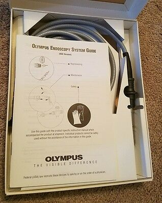Olympus A3293 FIBER OPTIC Autoclavable Light Source Cable, ENT Endoscopy
