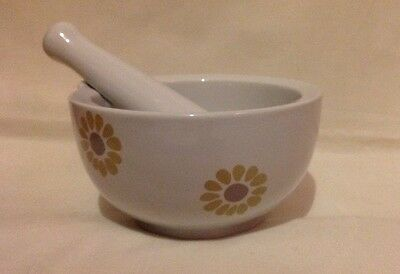 Laura Ashley Flower Patterned Pestle And Mortar
