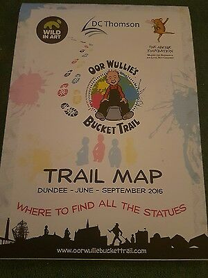 OOR WULLIE'S BUCKET TRAIL MAP   DUNDEE - D.C. Thomson
