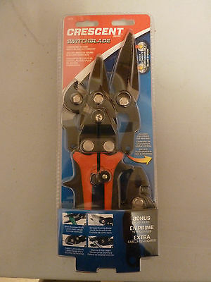 Crescent Compound Action Multi-Blade Snip Plier Set 5 Piece With Pouch CMTS4