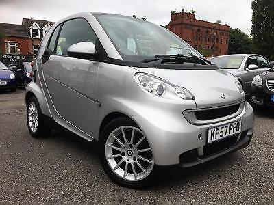 2007 (57) SMART FORTWO COUPE 1.0 PASSION 2DR Automatic