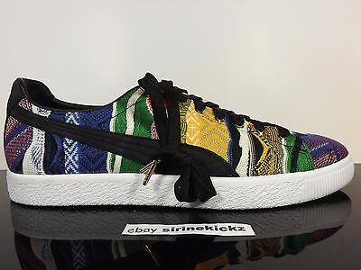 uk availability 69fe0 33b63 PUMA X COOGI Clyde Notorious Big Biggie Sweater Size 14 Very Rare
