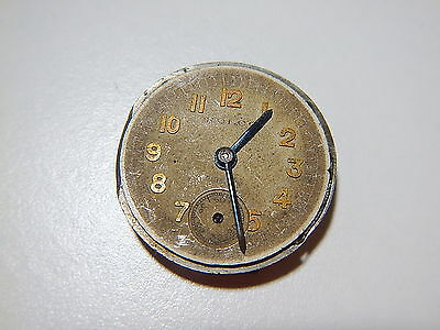 """ROLEX ROLCO Watch Movement Vintage 1920 Sub Dial And Hands """"Pidduck"""""""