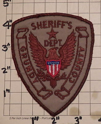 Grundy County (Morris,IL) Sheriff's Department Patch