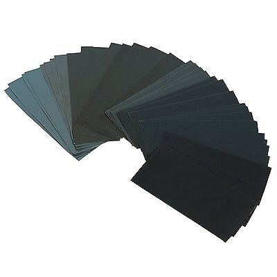 Gimars Sandpaper Dry Wet 36 PCS 9 x 3.6 Inch Waterproof 400 To 3000 Grit