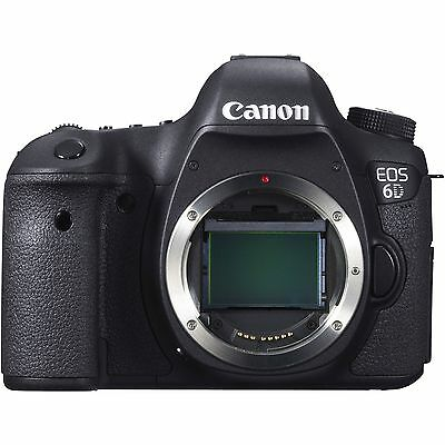 Canon  EOS 6D 20.2 MP Digital SLR Camera - Black (Body Only)