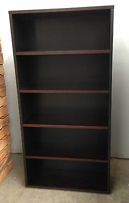 Office 1800mm High Timber Veneer Bookcase