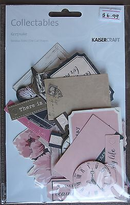 ~ Keepsake ~ COLLECTABLES 50+ Die Cut Shapes Scrapbooking Card Making CT883
