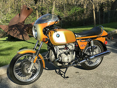 BMW: R-Series 1975 BMW R90S Daytona Orange
