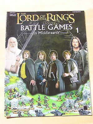 Lord of The Rings, Games Workshop Battle Games Magazine. No 1
