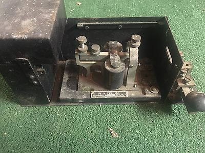Western Union Telegraph Key And Sounder