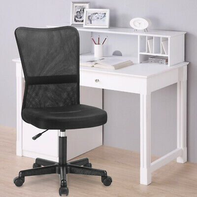 Small Office Chair Simple Mesh Task Chair Computer Swivel Chair Meeting Room