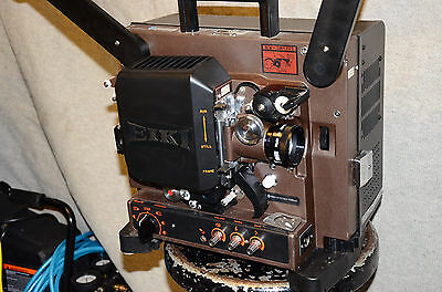 WORKING EIKI NT-1 16mm FILM MOVIE PROJECTOR W 50mm F/1.2 lens