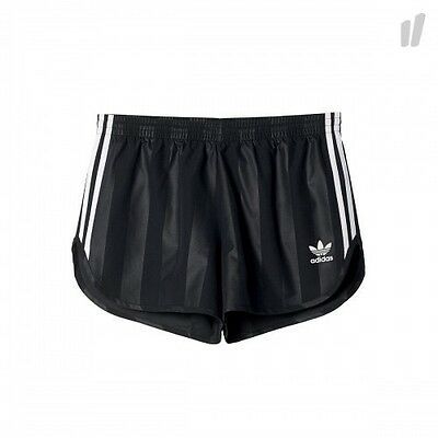 New Adidas Football Unisex Black Retro Shorts Size Xl