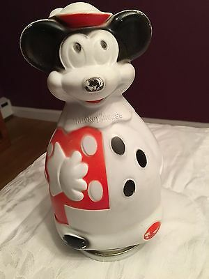 Vintage Mickey Mouse Promotional Bank Nabisco Puppets Wheat Puffs 1966