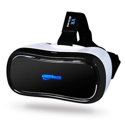 3D VR Headset All in One Virtual Reality Glasses WiFi Bluetooth for Movies Games