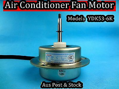 Air Conditioner Spare Parts Fan Motor/Asynchronous Motor YDK53-6K (D625) New