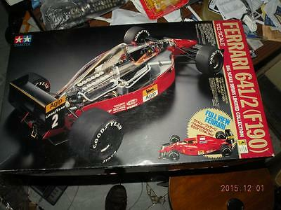 Tamiya 1/12 F1 Ferrari 641/2 F190 Full View #12030 Super Detail Kit