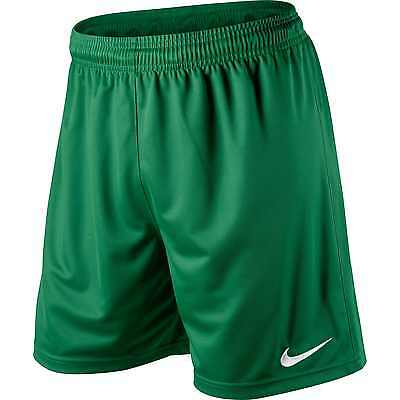Shorts Football/ Soccer Nike Park Pine Green Adult Sizes Small