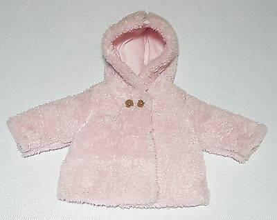 Sprout Pink Faux Fur Coat - Size.000 - NWT