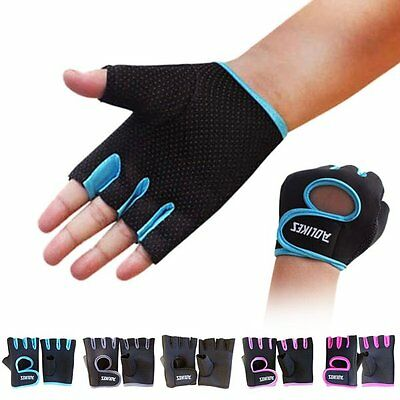 Men Women Fitness Gym Sports Gloves Weight Lifting Workout Cycling Gloves Hot