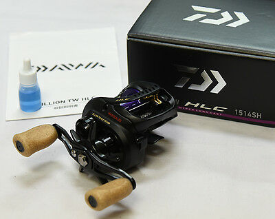 2016 NEW Daiwa ZILLION TW HLC 1514SH (RIGHT HANDLE) Bait Casting Reel