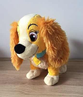 """Disney Store Exclusive - Lady And The Tramp - Lady 10"""" Plush Soft Toy - Dog -Vgc"""