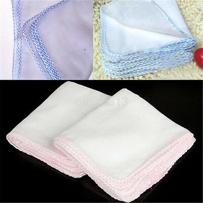 10x Double Layer Facial Cleansing Muslin Face Cloth Towel Makeup Dirt Removal au