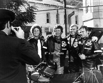 Robert Reed William Shatner Andy Griffith Motorcycle #2 (68)