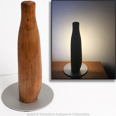 TABLE LAMP Unique Abstract Carved Wooden Leg Modern Designer Ambient Light Glow