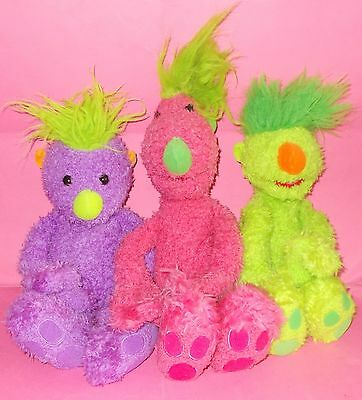Set Tomy Purple Iver Ivor Green Groove Pink Tula The Hoobs Talking Soft Toys