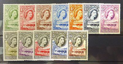 BECHUANALAND 1955 Complete to 10/- SG143-153 Mounted Mint NB961