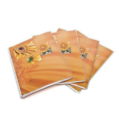 4x Hama Softcover Fotoalbum Album Slip In Einsteckalbum orange 13x18