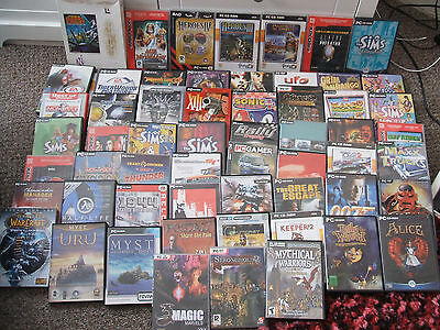 60+ PC Games Bundle and some Expansions Clearout Job lot