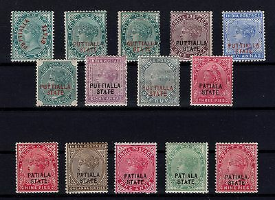 P24757/ Inde India / Patiala 1884 / 1902 Type Victoria Neufs / Mint 140 €