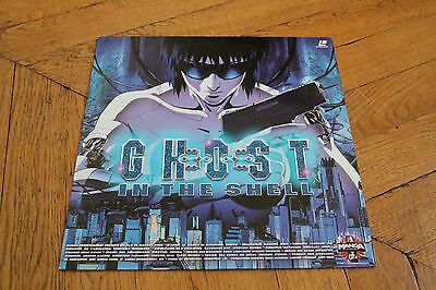Ghost in Shell 1997 LASERDISC VF PAL MANGA ANIMATION VIDEO Comme Neuf