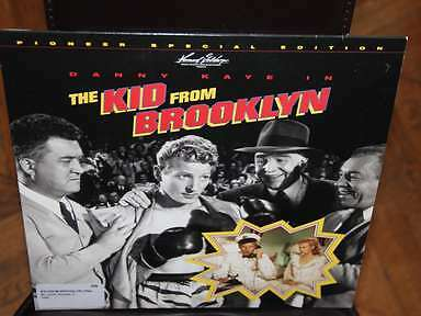 THE KID FROM BROOKLYN Laserdisc LD NTSC Pioneer Special Edition