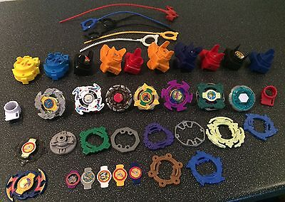 Large Beyblade Style Spinning Tops Spinners Joblot Bundle
