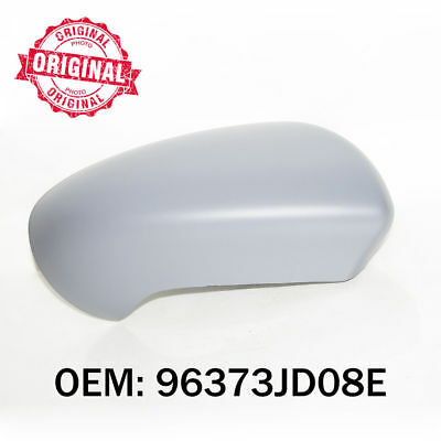 Right Side Wing Mirror Cover Primed Casing For Nissan Qashqai 2007 onwards