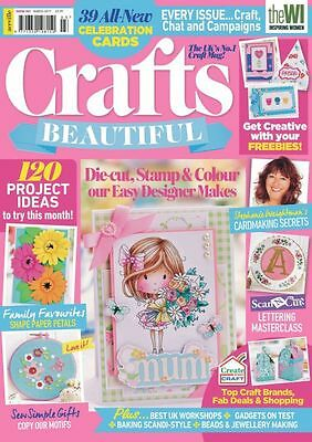 Craft's Beautiful Magazine March 2017 (new) With Free Gifts