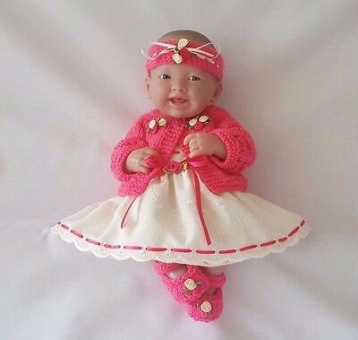 Handmade Baby Doll Clothes for 14 inch doll BERENGUER/CUPCAKE LA NEWBORN/ REBORN