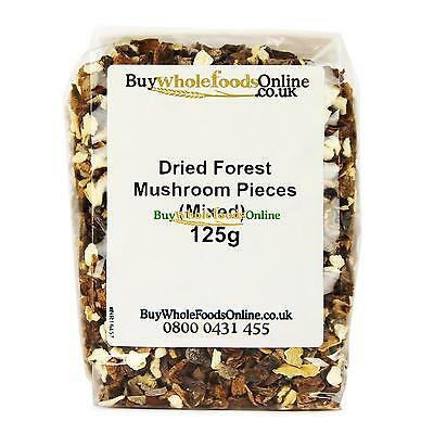 Dried Forest Mushroom Pieces (Mixed) 125g