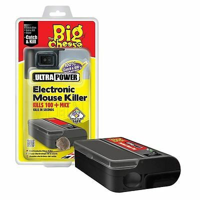 STV722 The Big Cheese Ultra Power Electronic Mouse Killer Kill 100+Mice Pet Save