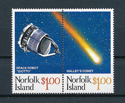Norfolk Island 381 MNH, Haley's Comet, 1986