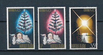 Norfolk Island 153-5 MNH, Christmas 1973